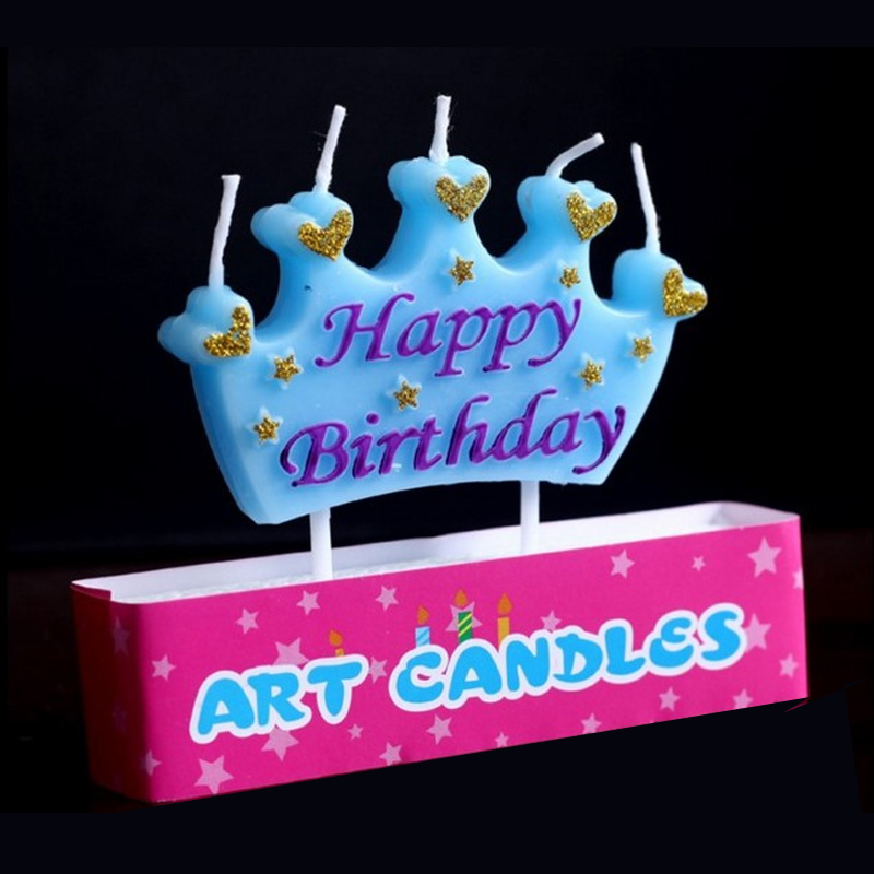 12set Wholesale Cute Happy Birthday Letters Design Art Smokeless