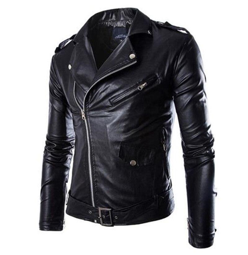 Nouveau Moto vestes hommes Vintage rétro PU cuir veste course Biker Punk classique Motocross coupe-vent Moto veste