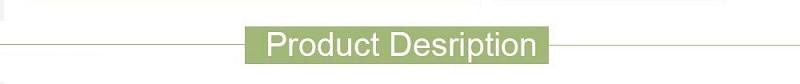 1 产品描述(尺码图和颜色)
