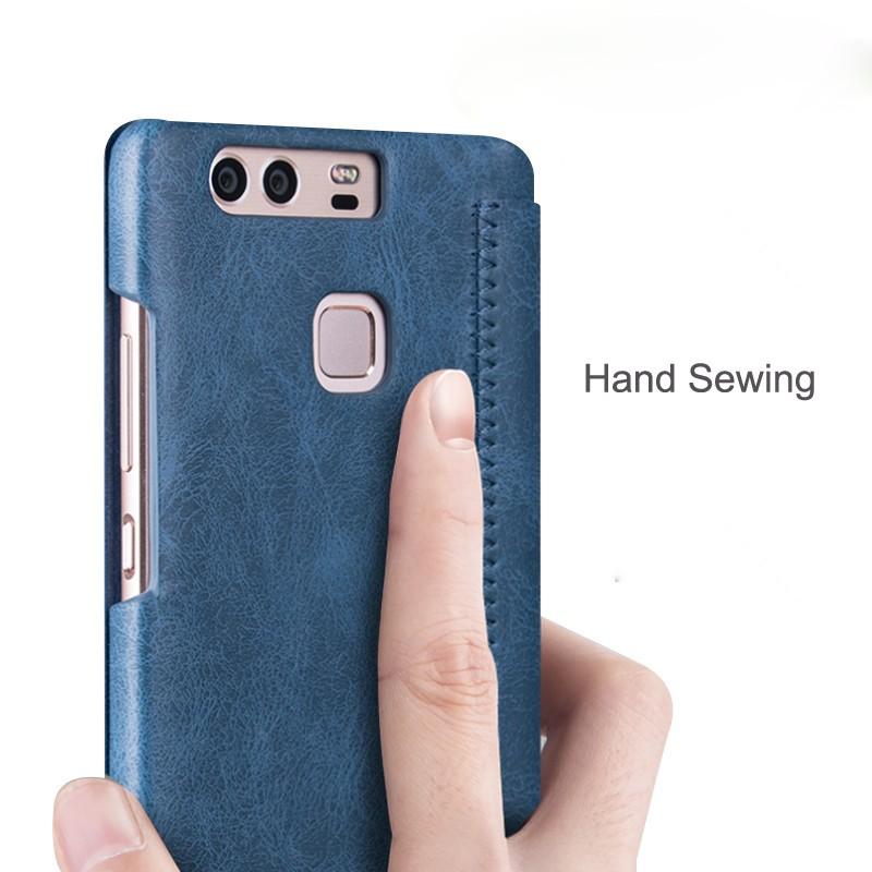 Huawei-P9-case-MOFi-original-Huawei-P9-leather-back-cover-flip-case-silicone-Hauwei-P9-protection (9)