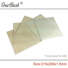 Special offer ABS special Fixed plate FR4 epoxy boards porous 215x200x1.5mm pegboard Aurora Z605S/Z605 Free shipping