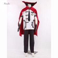 Ainclu Final Fantasy Type 0 Suzaku Peristylium Class Zero Machina Summer School Uniform Cosplay Sell Brand Summer Costumes