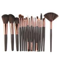 US Warehouse New Professional 18PCS Makeup Brush Set Tools Fashion Make-up Toiletry Kit Wool Make Up Brush Set Pincel Maquiagem Health & Beauty