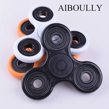 Funny Tri Spinner Fidget Toy Plastic EDC Hand Spinner For Autism and ADHD Rotation Time Long