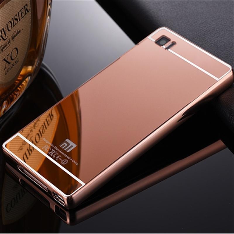 Xinchentech para Xiaomi Mi3 Funda de lujo espejo de metal + acrílico - Accesorios y repuestos para celulares - foto 4