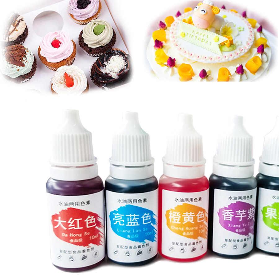1Pc 10ML Macaron Cream Food Coloring Ingredients Cake Fondant Baking Cake  Edible Color Pigment Baking & Pastry Tools 13 colors