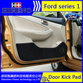 Hireno puerta del coche anti kick pad mat cubierta de pegatinas para Ford Ecosport ESCORT Fiesta Ford Explorer edge Puerta Del Coche de Protección Pad