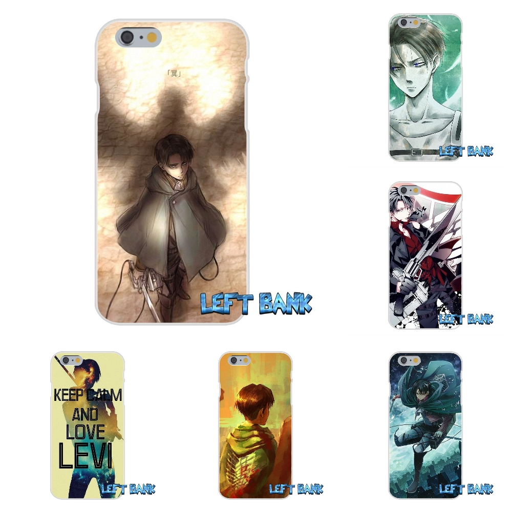 Attack On Titan Levi Rivaille Soft Silicone TPU Transparent Cover Case For Xiaomi Redmi 3 3S Pro Mi3 Mi4 Mi4C Mi5S Note 2 4