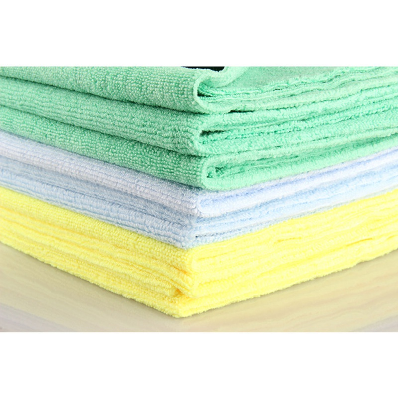 Image 2 - 1Pcs New Microfiber Auto Detailing Towel 40x40cm 300GSM  Ultra Soft Edgeless Towel Perfect For Car Washing Paint Care Accessory-in Sponges, Cloths & Brushes from Automobiles & Motorcycles