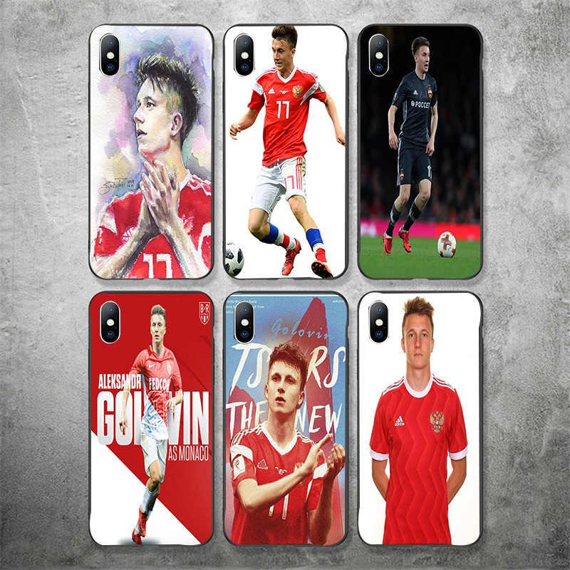 Yinuoda Aleksandr Golovin Phone Case DIY Photo Phone Case Custom Picture Soft TPU Cover For iPhone X XR XS MAX 7 8 7plus 6 6S 5S