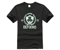 Defqon.1 футболка с коротким рукавом мужская футболка Pp Рашгард хлопок XXXL Забавные футболки