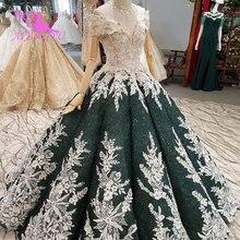 AIJINGYU ciążowe suknie ślubne w stylu Vintage suknia nowy dla nowożeńców Boho Chic nosić suknie ślubne w stylu Vintage sukienka z rękawami