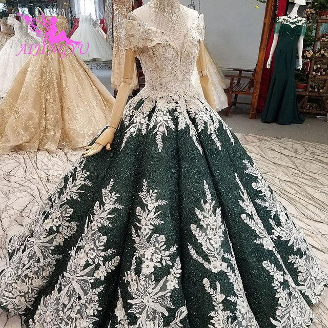 AIJINGYU فساتين الزفاف الأمومة ثوب خمر جديد الزفاف بوهو شيك ارتداء فساتين الزفاف خمر مع الأكمام