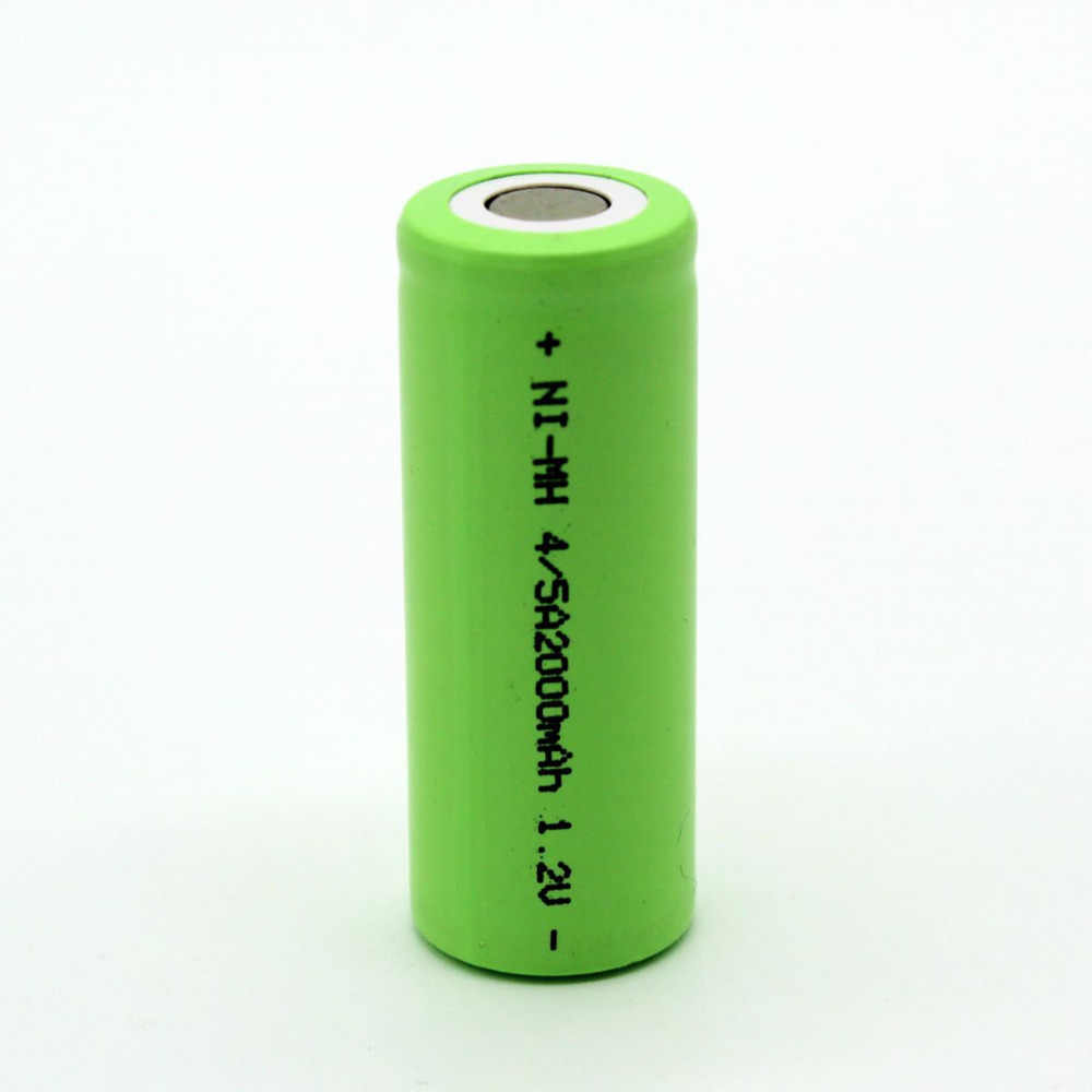 2000 mAh 1,2 V 2016 аккумуляторная батарея Ni-MH для батарея для светодиодного фонаря