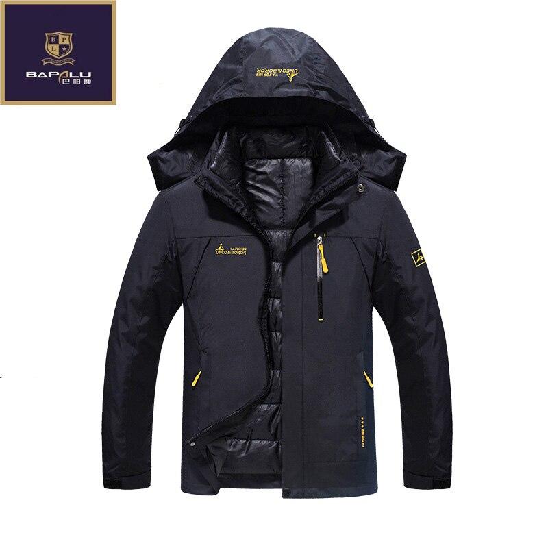 new winter jacket male / female Down jacket Waterproof windproof leisure jacket Plus thick velvet Warm jacket coat 4XL 5XL 6XL