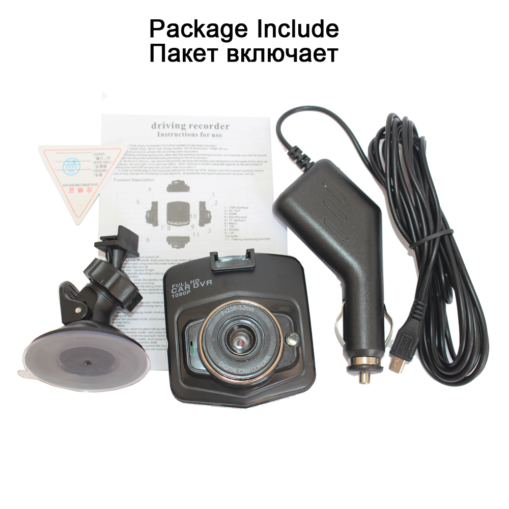 car camera HD 1080P dashcam DVR recorder dash cam car dvr auto rear view camera vehical car cam of mirror recorder 6