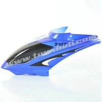 RC helicopter Syma spare parts S107 S107G 01head cover blue canopy