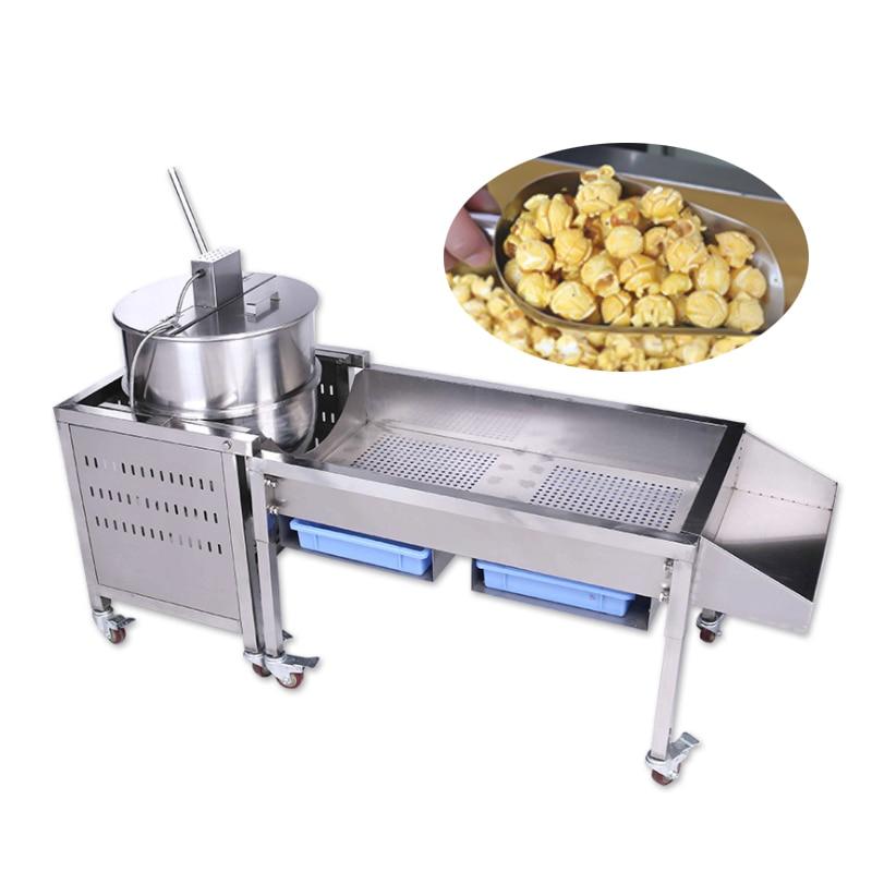 Commercial Gas Popcorn Maker Stainless Steel Gas Popcorn Machine Large-size Popcorn Machine Corn Popper
