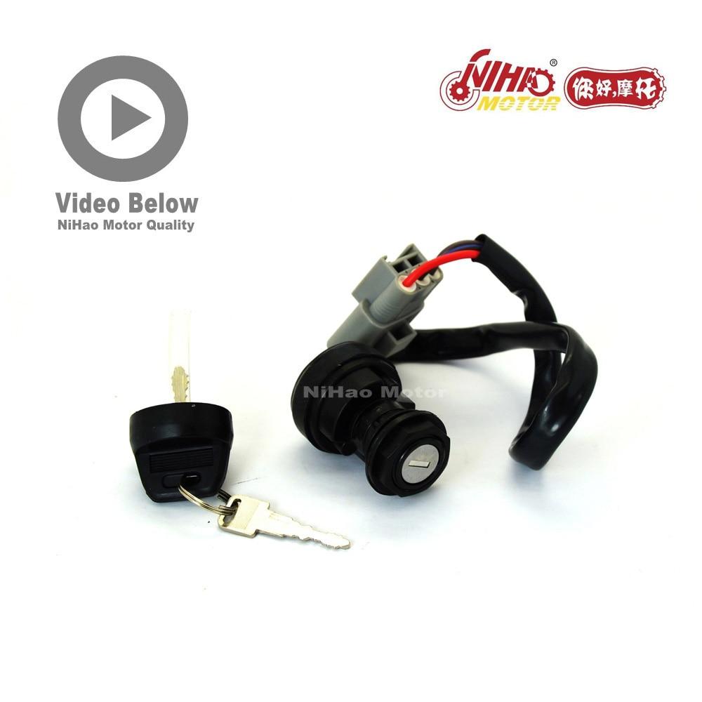 HS-54 HS400 HS500 HS700 Ignition Lock Hisun Parts HS185MQ 400cc/HS185MR 500cc/HS1102MU 700cc ATV UTV Quad Engine Spare