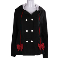 Anime Seraph Of The End Krul Tepes Hoodies Cosplay Cotton Jackets Winter Sweatshirts Cute Girl Coat
