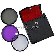 Универсальный 40,5 мм УФ+ CPL+ FLD фильтр для объектива камеры для DSLR камеры+ набор цифровых фильтров практичный и прочный и удобный