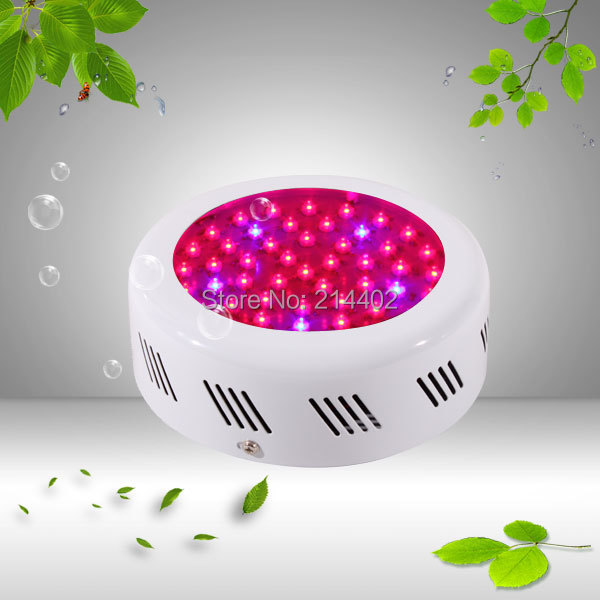 Mini 50w UFO Led grow light 50x1w 5band dropshipping short row knits