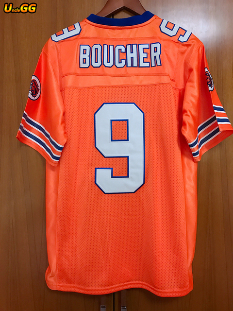 a099b2992 Uncle GG Bobby Boucher Cheap American Football Jersey Mens Throwback The  Waterboy Football Jersey Adam Sandler  9 Shirt