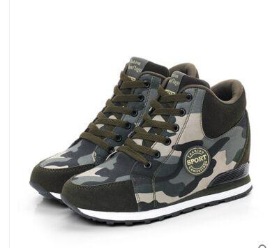 e4b24299201 Running Shoes Women Hidden Heels Sneaker High Heel Sport Shoes Sneakers  Glowing Running Shoes For Women Brand Wedge Heels