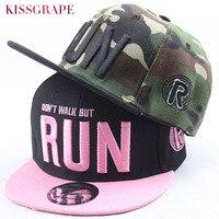 Parenting Camouflage Baseball Caps For Children Boys Girls Men Women Pink Emboridery Letters Flat Snapback Hats