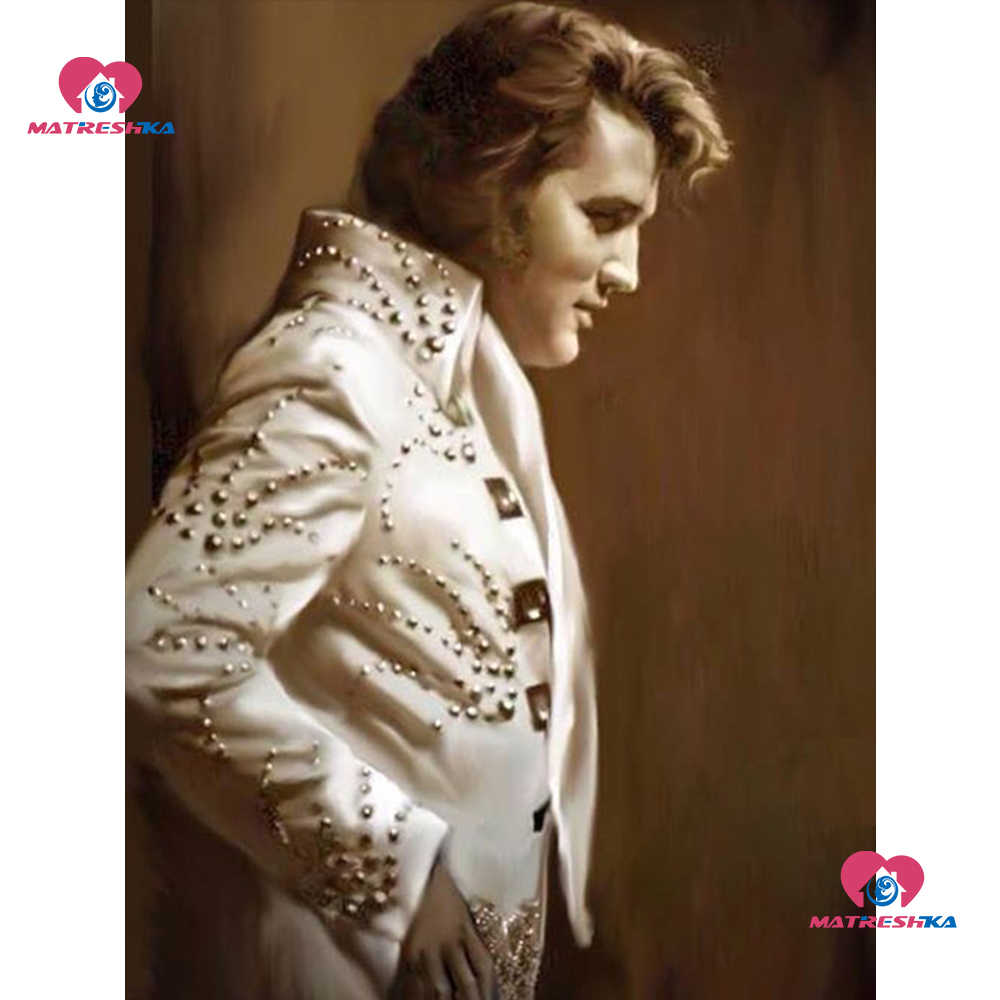 5D Diy Diamond Painting completely elvis presley Picture Of Rhinestone Beadwork Diamond Mosaic Sale Crafts Kit Home Decor gifts