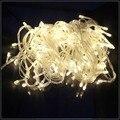 NUEVA 10 M/20 M/30 M/50 M/100 M LED Luces de la Secuencia 100/200/400/600 Led de Navidad de La Boda Decoraciones Del Partido Garland Iluminación 220 V/110 V