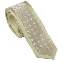 Галстуки мужские s обтягивающие бежевые с коричневой квадратной сеткой полосатые галстуки с каймой тощий галстук 6 см мужские нарядные рубашки Свадебные Gravatas Corbata