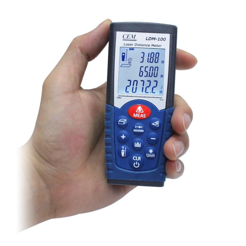 ФОТО laser rangefinder distance measurer 65m laser distance meter