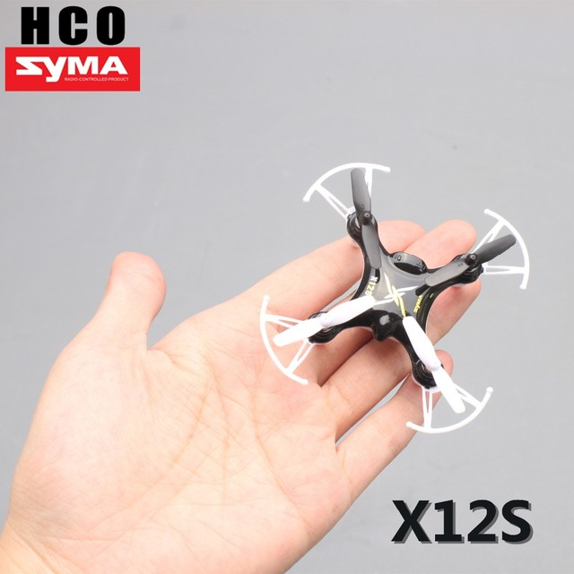 Latest Mini Drone Syma  X12S drone RC Quadcopter remote control nano copter in palm indoor & outdoor applicable helicopter
