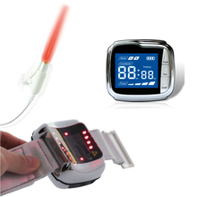Health Care Home Wrist Type Laser Watch High Blood Pressure Fat Sugar Diabetes Therapy Instrument