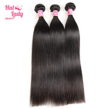 3 Pcs Lot Peruvian Human Hair Bundle Deals 8- 34inches Halo Lady Beauty Recommend by Malibu Dollface Non Remy Hair Extensions
