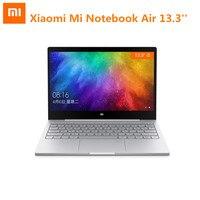 Xiaomi Mi Тетрадь Air 13,3 Windows 10 Intel Core I5 7200U двухъядерный ноутбук 2,5 ГГц 256 г SSD Дискретная Двойной Wi Fi отпечатков пальцев