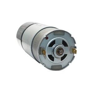 """Image 2 - 12VDC 8 1000 סל""""ד מומנט גבוה נמוך סל""""ד DC מנוע כל מתכת נמוך רעש הילוך מנוע JGB37 545"""