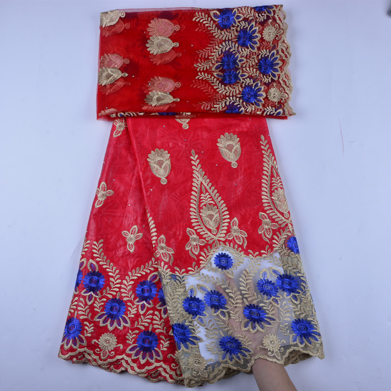 New design 3d appliqued lace for wedding high quality african french lace fabric europe and america