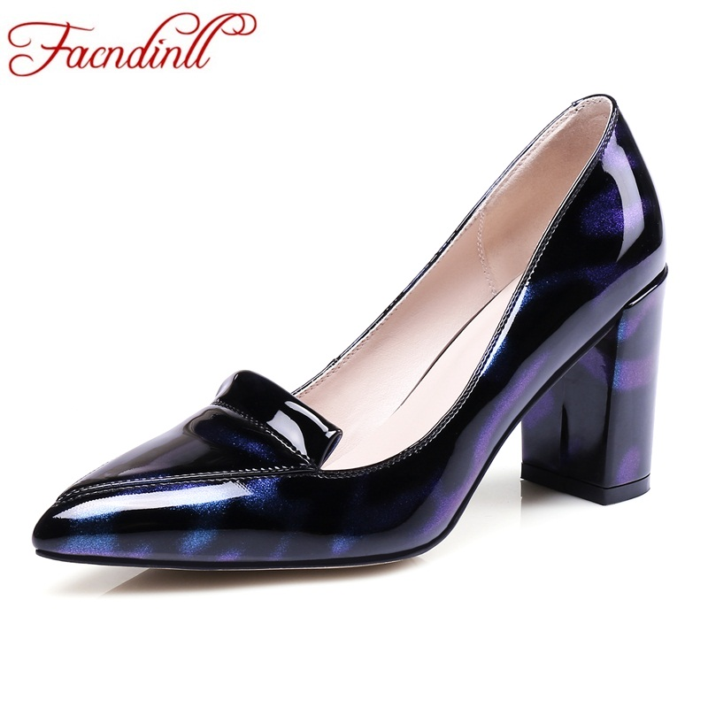 FACNDINLL fashion shoes woman pumps new sexy high heels pointed toe patent leather women spring summer office lady dress pumps fashion new spring summer med high heels good quality pointed toe women lady flock leather solid simple sexy casual pumps shoes