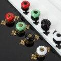 1 Pc Vintage Montagem de Móveis Puxadores de Cerâmica e Alças Puxadores Para Móveis Porta Knob Gaveta Do Armário Da Cozinha Puxadores