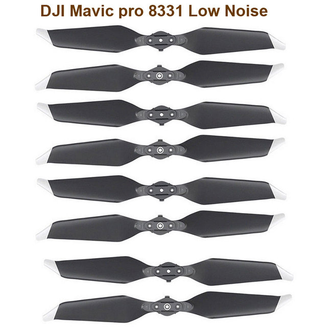 STARTRC DJI Mavic Pro Platinum 8331 Düşük Gürültülü Hızlı Yayın Pervaneleri Altın Aksesuarları DJI Mavic pro serisi