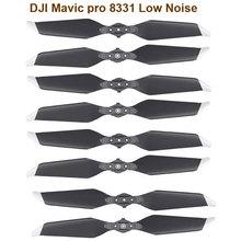 Startrc dji mavic pro platinum 8331 hélices de liberação rápida de baixo nível de ruído acessórios dourados para dji mavic pro series