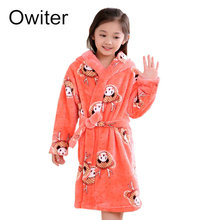 New Baby Girls Kids Boy Night Bath Robe Sleepwear Homewear Pajamas Clothing ND01