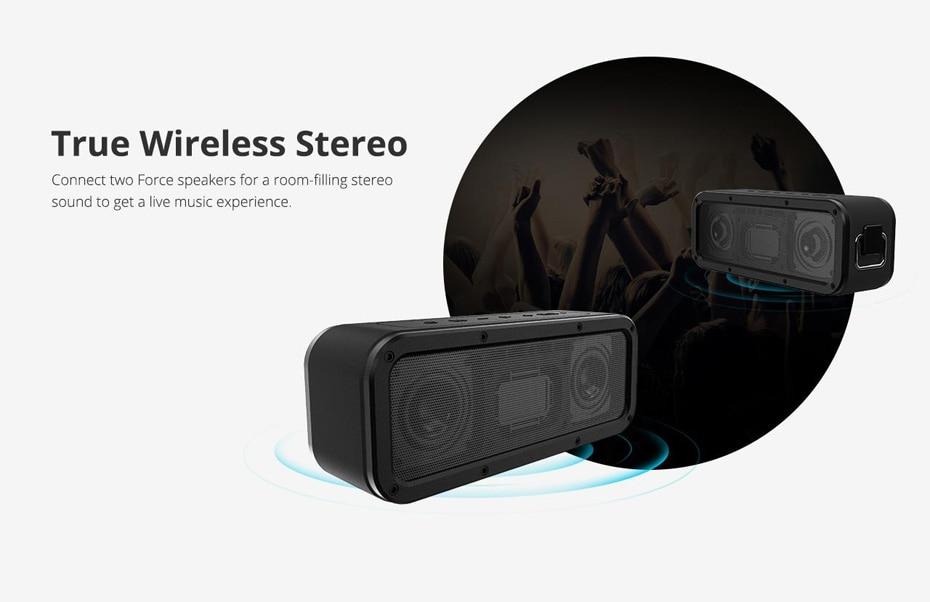 Tronsmart Force Bluetooth Speaker TWS Bluetooth 5.0 40W Portable Speaker IPX7 Waterproof (33)