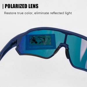 Image 4 - ROCKBROS 사이클링 편광 된 스포츠 안경 자전거 100% UV400 충격 저항 렌즈 선글라스 남자 여자 등반 Glasse 실행