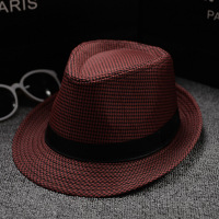 Summer Hats Multicolor Optional Solid Straw Hat For Women Beach Fedoras Casual Panama Sun Hats Jazz Caps British Style Hat 2