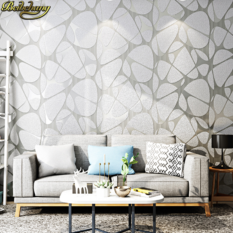 beibehang papel de parede 3D Luxury Modern geometric gray Wallpaper 3D Living room 3d flooring bedroom wall paper Home Decor modern simplicity nordic landscape sun wallpaper geometric triangle television background wallpaper gray system home decor