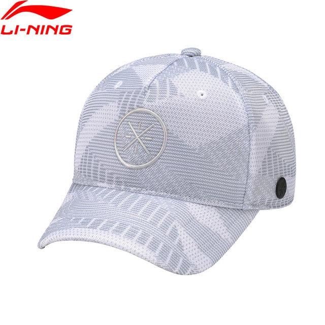 9fd7de6230056 Li-Ning Men Wade Lifestyle Baseball Cap 100% Polyester 56-60 cm LiNing  Comfort Adjustable Sports Caps Hat AMYN057 PMQ078