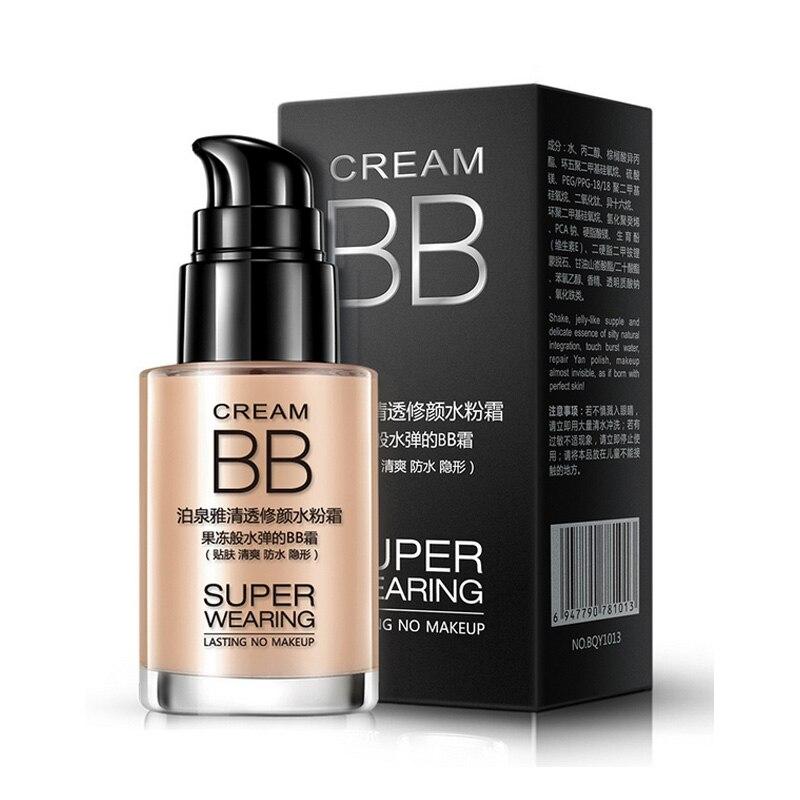 BB Cream Moisturizing Whitening Oil Control Isolation Nude Makeup Concealer  Foundation Cosmetics Beauty HJL2017 1d52b0cf57cb